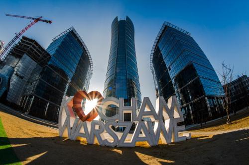 Modern Warsaw.